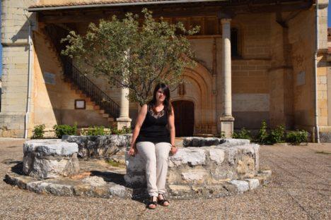Raquel Llana, concejala de hacienda y urbanismo en Castrejón